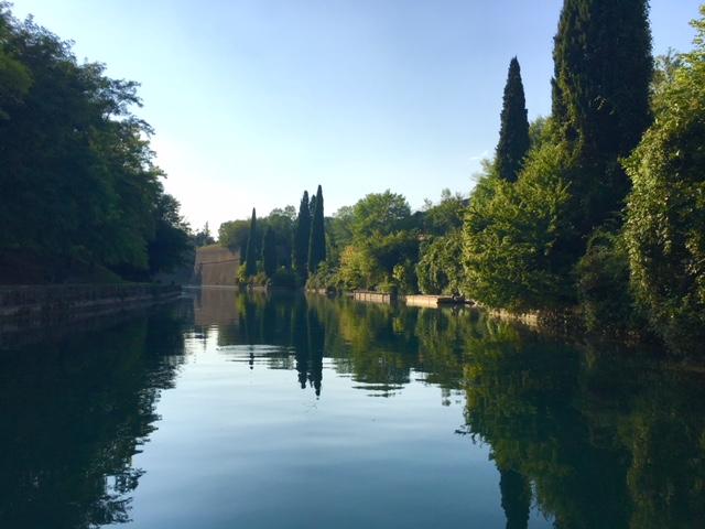 canale attorno alla Fortezza