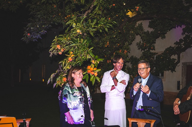 Crisitna e Arturo Ziliani e al centro Davide Oldani foto di @www.matteorinaldi.it
