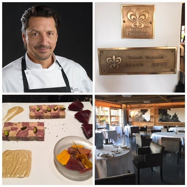 lo chef stellato Franck Reynaud