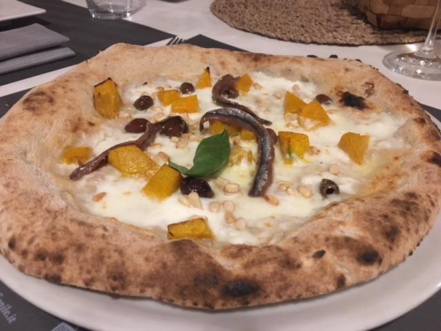 pizza Terra Madre in versione autunnale