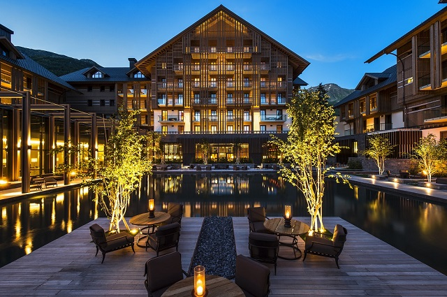 esterno dell'hotel -The Chedi