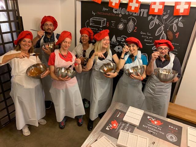 workshop per diventare mâitre chocolatier -Photo Credots @isabellaradaelli
