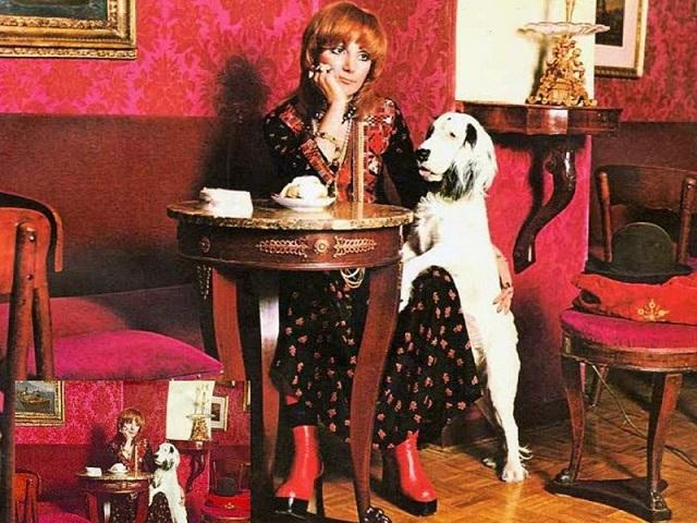 la copertina del 45 giri di Mia Martini
