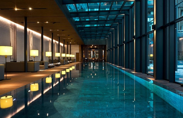 indoor pool - The Chedi