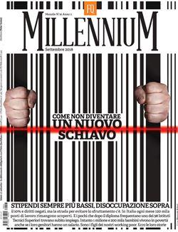 la copertina di Millenium. supplemento de Il Fatto quotidiano