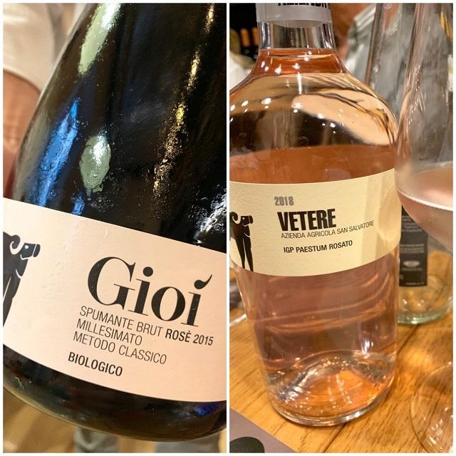 i vini rosé della cantina San Salvatore-Photo Credits @isabellaradaelli