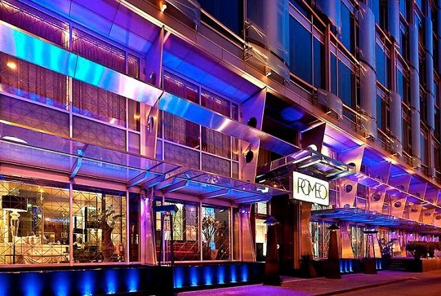 la facciata del Romeo Hotel - Photo Credits @isabellaradaelli