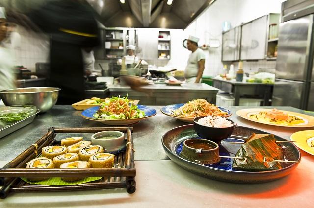 alcuni piatti dello Shambala - Photo Credits @shambala