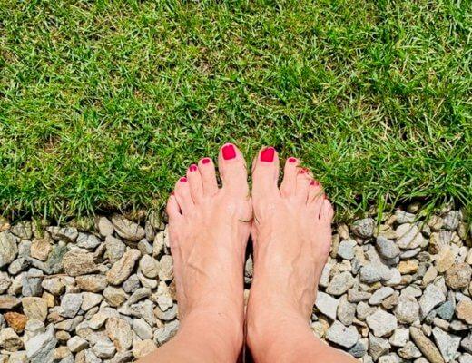 barefooting nel parco-photo credits @isabellaradaelli