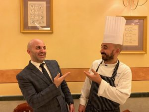 il restaurant manager Francesco Cotza e lo chef Umberto Barbieri-photo credits @isabellaradaelli