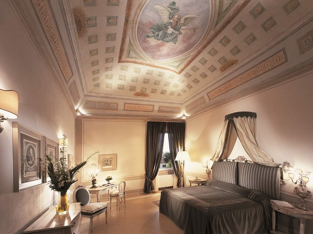 suite piano nobile - photo credits @bagnidipisa
