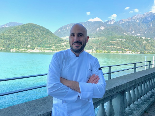 executive chef Andrea Levratto -photo ccredit @isabellaradaelli
