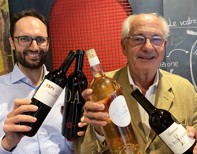 Mattia Bernardoni e Claudio Tamborini