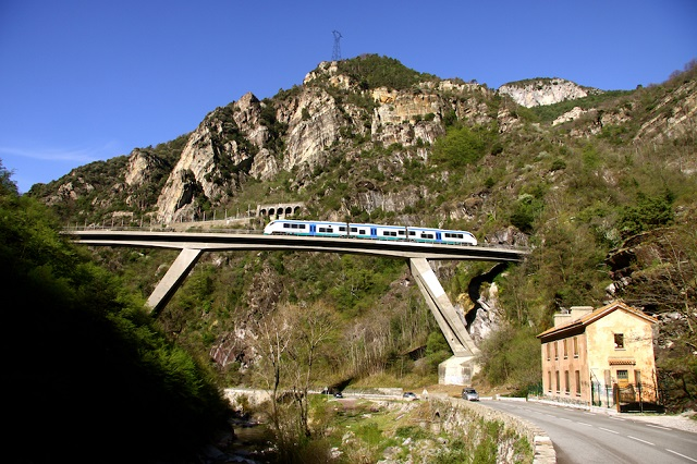 Ferrovia Cuneo-Ventimiglia-Nizza Photo Credit @FAI