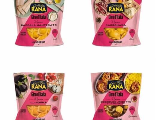 collage Rana - Giro d'Italia