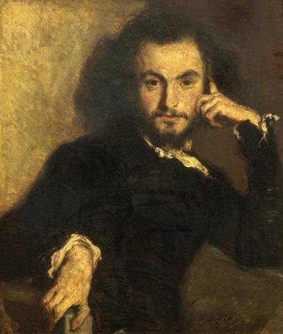 Baudelaire 1844 ritratto di Emile Deroy