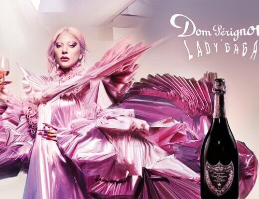 Lady gaga & Dom Pérignon