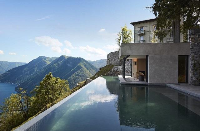 Villa sul lago di Como -Pool