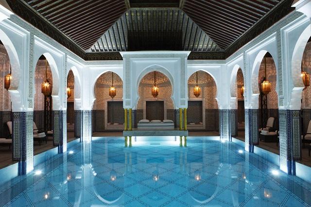 La Mamounia_indoor pool