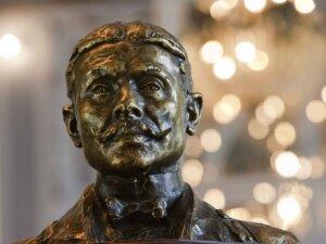 busto bronzo M.Proust