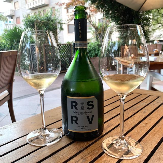 champagne RSRV 4.5 Mumm
