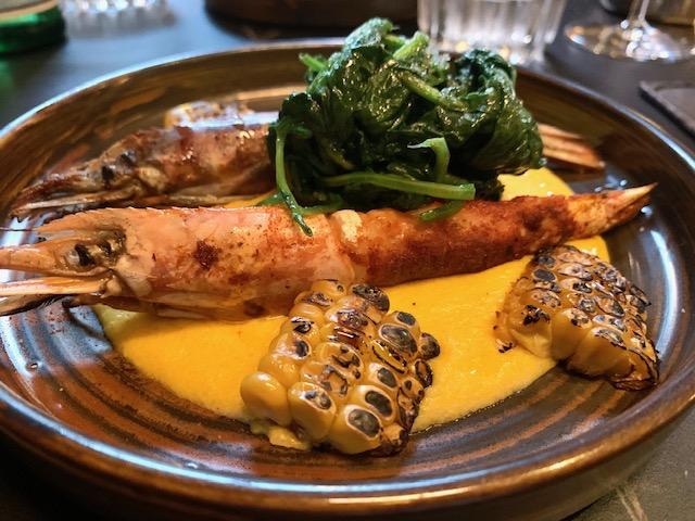 shrimps & grits alla creola